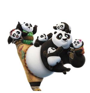 中美合拍动画电影《功夫熊猫3》上映3天获得超4亿元